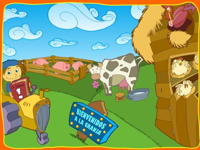 Juego La granja - Aula 365
