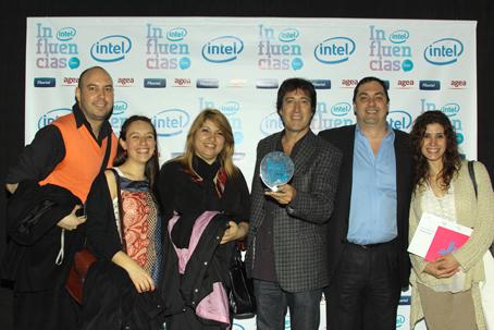 """Aula365® Speedy recibió el premio Influencias 2010 en la categoría """"Internet"""""""