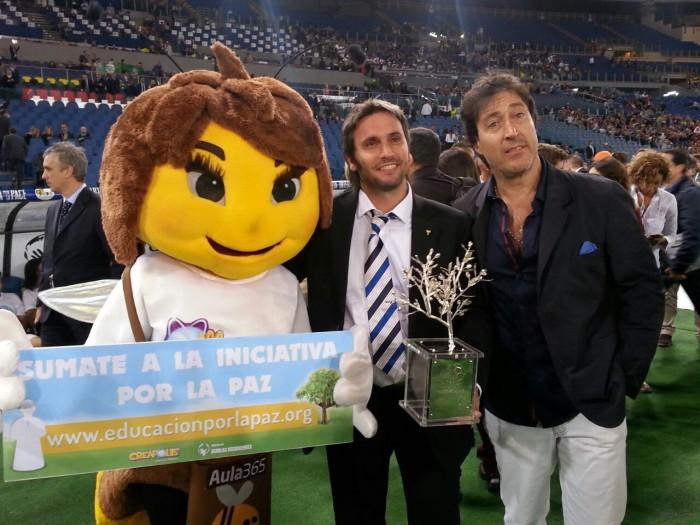 Cece con Pablo Aristizabal